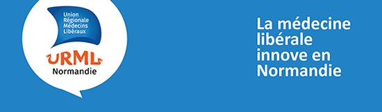 Le logo de l'URML Normandie - La médecine innove en Normandie