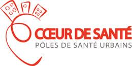 coeur de sante logo - Pôle de santé en<br>milieu urbain