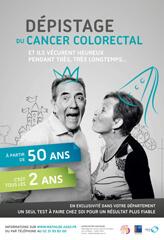 mathilde depistage cancer colorectal affiche - L'URML Normandie et la société