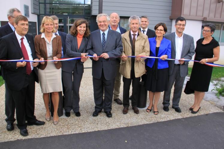 IMG 1412 747x498 - Inaugurations des PSLA de Mortagne au Perche et Bayeux