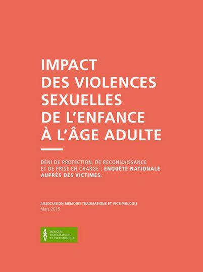 rapport salmona - Violences sexuelles, conjugales et intra-familiales