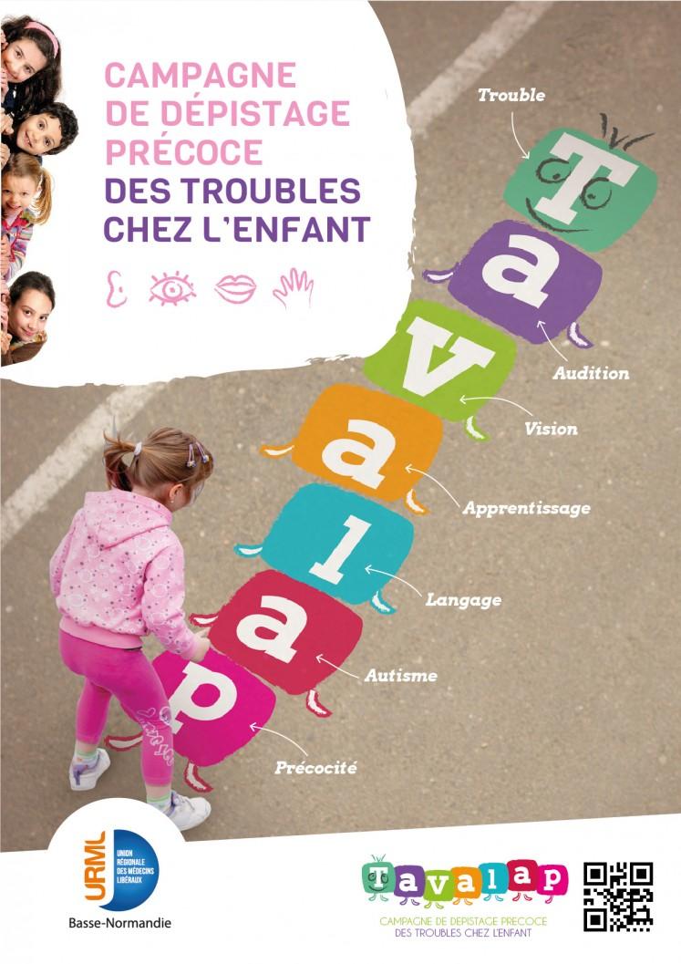 Tavalap affiche V2 747x1057 - TAVALAP <br> Dépistages précoces chez l'enfant