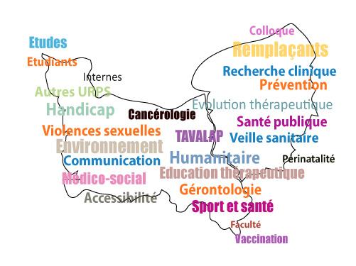 carte1 - Découvrez les actions de l'URML pour la médecine libérale en Normandie