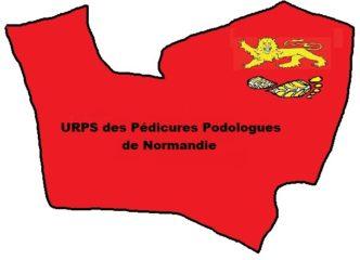 LOGO PEDICURE NORMANDIE 332x240 - Liens URPS et partenaires