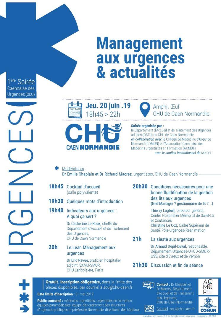 1ere soiree caennaise urgences2019 747x1082 - 1ère soirée caennaise des urgences (SCU)