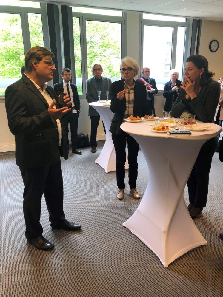 lhdp 747x996 - Visite de la Ministre de la Santé au PSLA La Haye du Puits