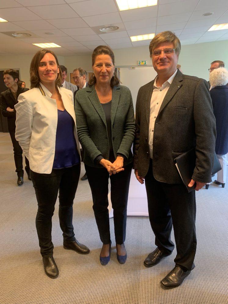 lhdp2 747x996 - Visite de la Ministre de la Santé au PSLA La Haye du Puits