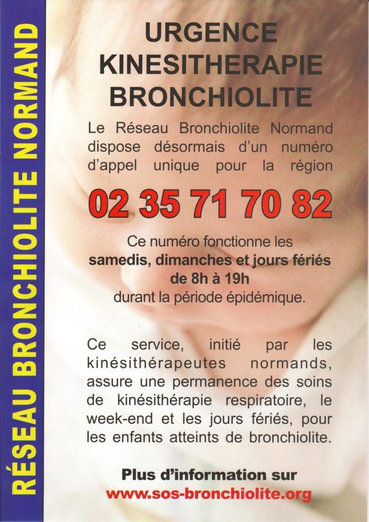 affiche RBN 747x1056 - 02 35 71 70 82 - Le Réseau Bronchiolite dispose désormais d'un numéro d'appel unique pour la région