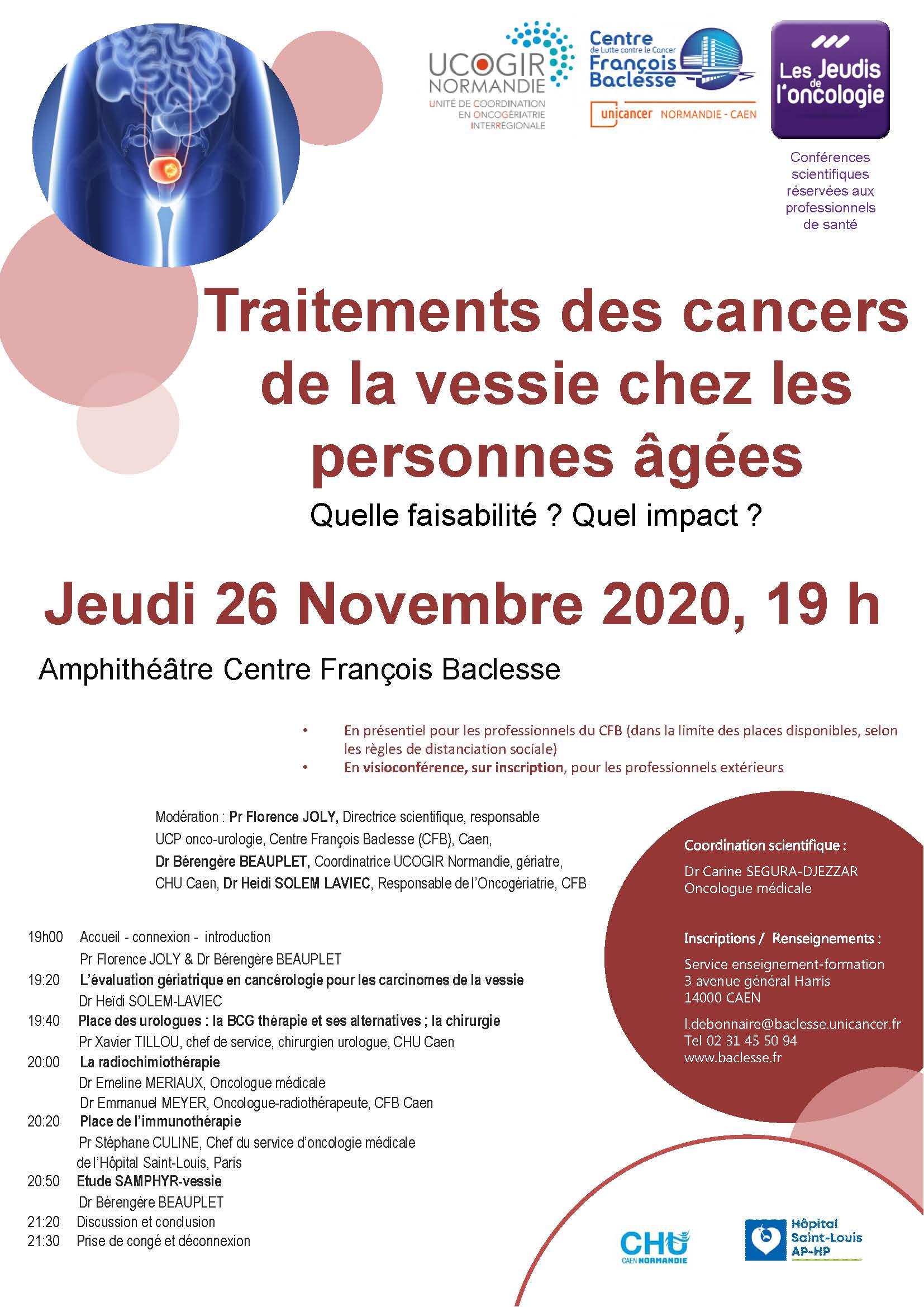 V2 Jeudi 26 novembre  2020 UCOGIR - Traitements des cancers de la vessie chez les personnes âgées