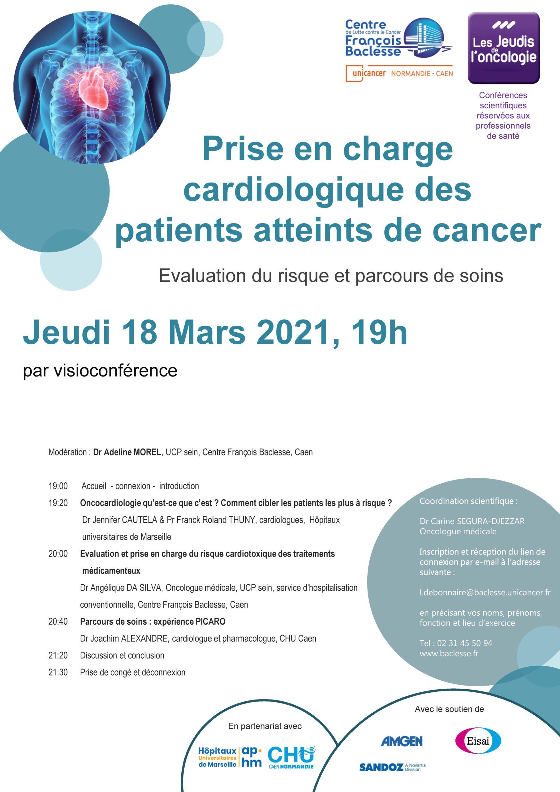 Jeudi 18 MARS 2021 Cardiologie scaled - Prise en charge cardiologique des patients atteints de cancer