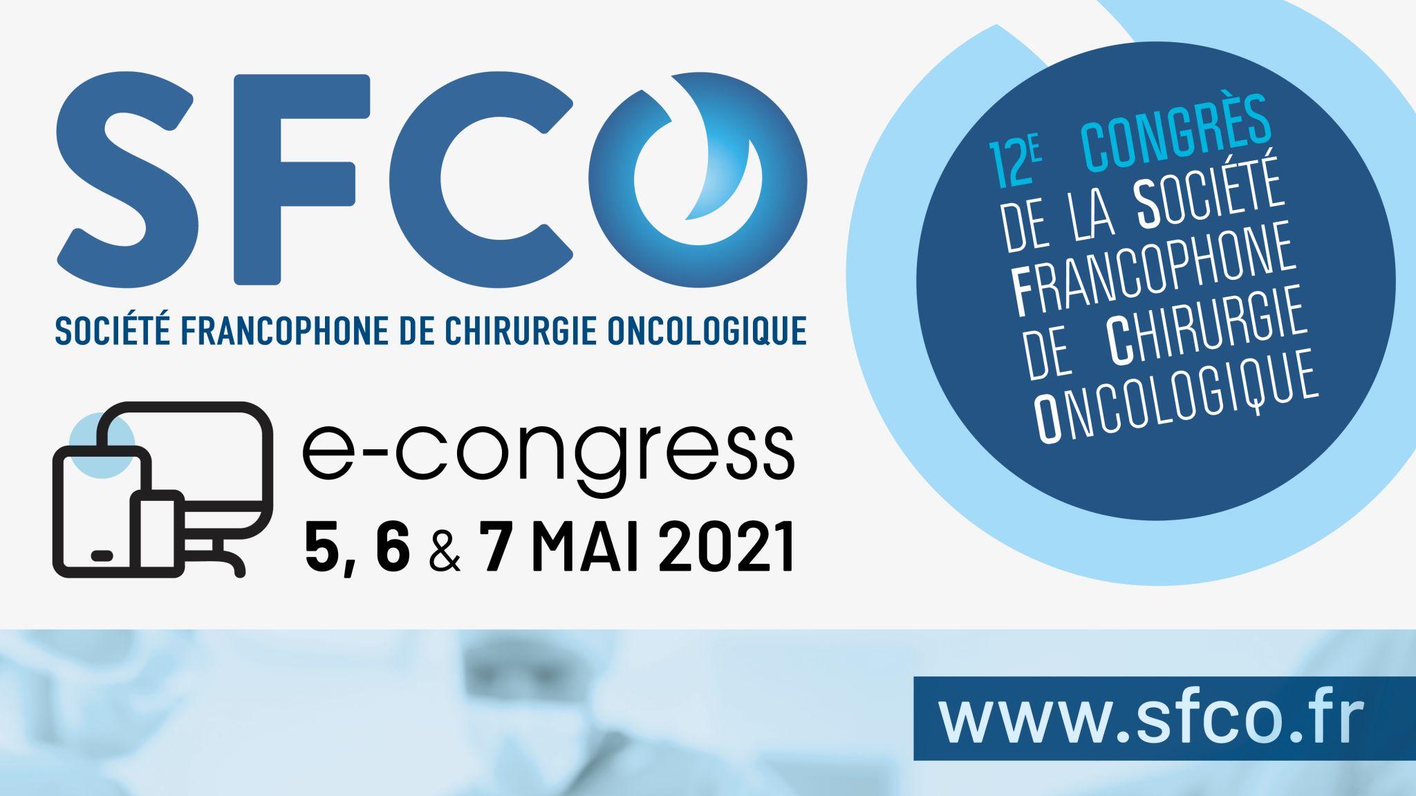 vignette SFCO2021 - e-congress : La médecine péri-opératoire au service de la chirurgie oncologique